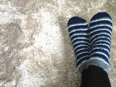 厚手の靴下1